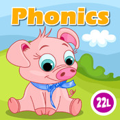 Phonics: Fun on Farm - Reading, Spelling and Tracing Educational Program • Learning Games & Flash Cards for Kids in Preschool, Kindergarten and 1st Grade by Abby Monkey®