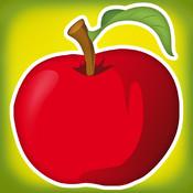 Learn Your First Fruit Words - Alphabet, Spelling & Phonics Learning for Kids in Preschool & Kindergarten