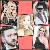 The Singer Quiz - Singers like Justin Bieber,Miley Cyrus,Katy Perry,Whitney Houston,Rihanna,Carrie Underwood,Beyonce,Taylor Swift,Justin Timberlake and many more. Guess the Rock,SongPop,Jazz Singer,Icon,Celebs,Musician,Celebrity