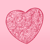 Doodle Valentine - Sticker keyboard to chat in Messages, WhatsApp, Facebook Messenger, KakaoTalk, and more. No emoji or animated gifs facebook sticker translator