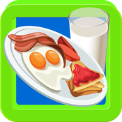 Breakfast Maker – Make food in this crazy cooking game for little kids