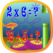 Flappy Fun Math Trainer HD multiplication trainer