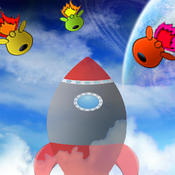 tilt to live and stay away from space alien evil enemy to protect your jet