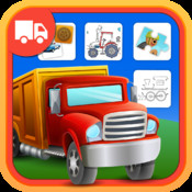 Trucks Activity Center for Kids and Toddlers who Love Things That Go