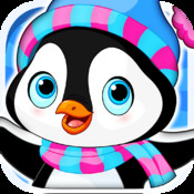 Arctic Penguin in the Frozen Ice Cream Club Hunt Free Game