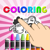 Coloring Game kids for Shuan the Sheep Version