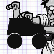 A Doodle Drives A Monster Truck HD Free