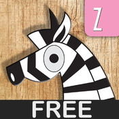 ABCD Animal Puzzle and Poems Free