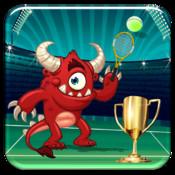 Monster Flick Tennis - A Creature Sport Arcade Game