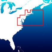 Aqua Map Cape Code to Chesapeake Bay HD - Marine GPS Offline Nautical Charts for Fishing, Boating and Sailing