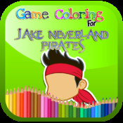 Game Coloring For Jake Neverland Pirates Version