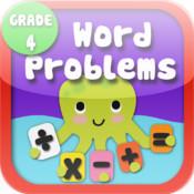 Kids Math-Word Problems Worksheets(Grade 4) free fraction worksheets