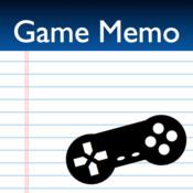 GameMemo
