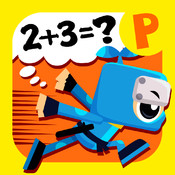 Math with Ninja - add and subtract -