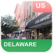 Delaware, USA Offline Map