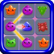 Jelly Blaze Mania - Bubbles and Diamonds Match-3 Puzzle PRO