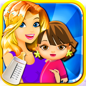Mommy`s New-Born Girl Care 5 - My fun baby pregnancy kid`s game for free