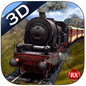 Mountain Train driving 3D – Heavy Railroad Steam Engine & Highland Driving Simulator