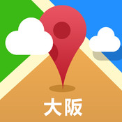 Osaka Offline Map(offline map, subway map, GPS, tourist attractions information)
