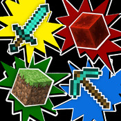 Blocks & Items Quiz Game For Minecraft - Test Your Knowledge on Your Favorite Game! game cd