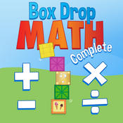 Box Drop Math Complete: A Fun Game for Kids to Practice and Learn Basic Facts