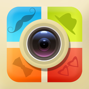 Cartoon Sticker HD Pro - Grid Editor & Photo Blender: best portrait filter effects & colorful messages on pic