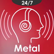 Metal and Heavy Rock music - The best Classic & Christian Metal songs from live internet radio stations wall metal art