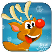Run, Rudolf Run! - Make the Red Nose Reindeer Jump and be a Hero run application