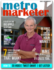 Metro Marketer Small Business Newsstand Marketing Magazine for the Local SMB in Search of Ideas top internet marketer