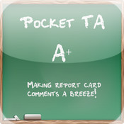 PocketTA report card