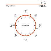 Weather Clock 24