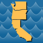 Stream Map USA - West Coast Edition - Find any River, Lake, or Stream stream tv 4 7
