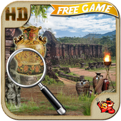 Ancient Temple - Free Search & find concealed and hidden objects in a old place temple
