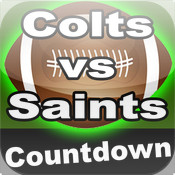 Colts vs Saints Countdown temple bowl