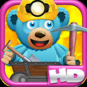 A Despicable Bears Gold Rush HD- Free Rail Miner Shooter Game rail rush