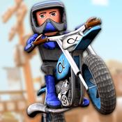 Cartoon Dirt Bike Runner - Free GP Motorcycle Racing Game For Kids