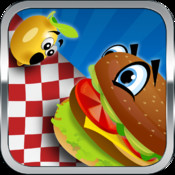 Flying Food Fight Dash - Hungry Restaurant Diner Mania (Free Game) fight mania