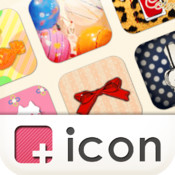 [+]icon (plus icon) Icon and Wallpaper Customization App icon pop