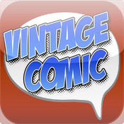 Vintage Comic for iPhone