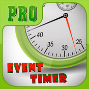 Event Timer Pro for iPhone 5/iPhone 4/iPad