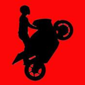 Cartoon Motorbike Stickman: Doodle World Stunt