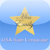 Miss Emily Learning - USA Sign Language for the iPad