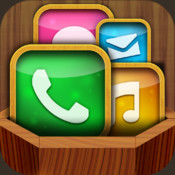 App Icon Frames & Shelves & Skins - Pimp Your Icons with Theme, Wallpaper, Background display themes