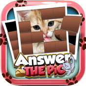 Answers The Pics : Cat Breeds Trivia Picture Puzzles Reveal Games