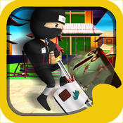 Assassin Japan Ninja vs Zombie Survival Free Game fruit ninja