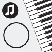 Music Line: A sight-reading exercise for the piano touch screen keyboard