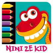 Color Jurassic - Coloring Exercises for Kids