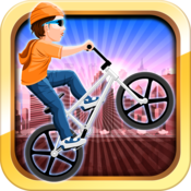 Offroad BMX Rider road speed wanted