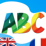 Learn French ABC for Kids - Fun Educational Vocabulary Lessons, Test Quizzes and Play Games with audio and flash cards for Baby, Pre-K, Toddlers, Preschool and Kindergarten Small Children