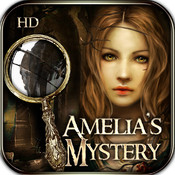 Amelia`s Hidden Mystery HD - hidden objects puzzle game